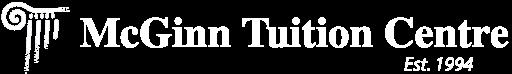 McGinn Tuition Centre Logo